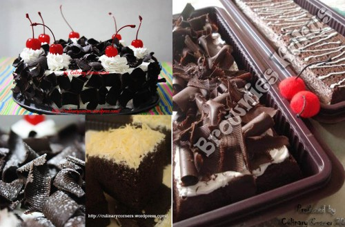 OPEN PO Blackforest, Brownies Topping Coklat, Brownies Topping Keju