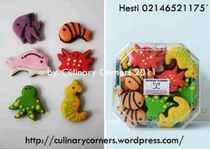 Undersea Animals Cookies